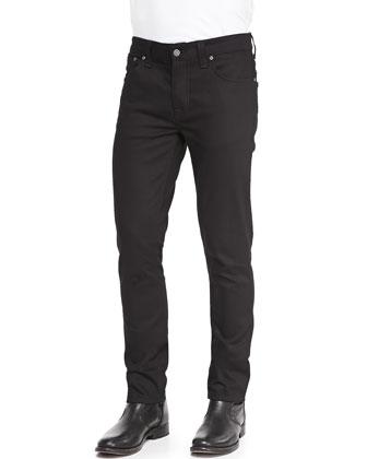 Grim Tim Saturated Denim Jeans, Black
