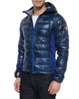 Hybridge Lite Hooded Jacket, Blue