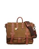 Hopper Canvas Messenger Bag