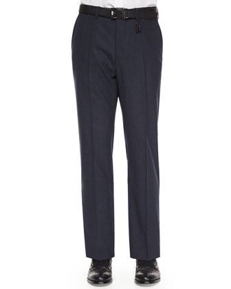 Benson Super 130s Trousers, Navy