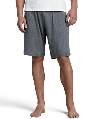Marlowe Jersey Shorts, Gray