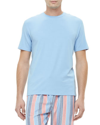 Basel French Tee Shirt, Blue