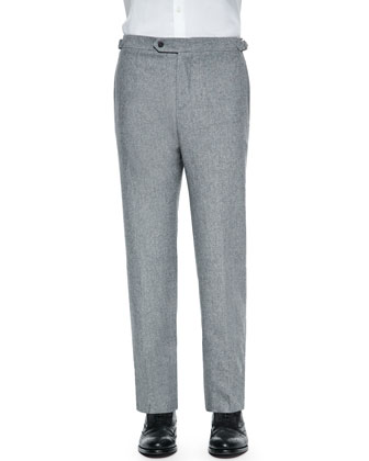 Parker Donegal Dress Trousers, Lt. Gray