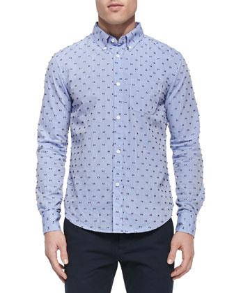 Fil Coupe Button-Down Shirt & Slim-Fit Chino Pants