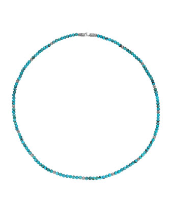 Mini Turquoise Bead Necklace