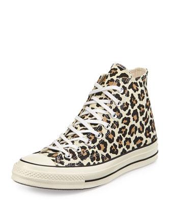 All Star Chuck '70 High-Top Sneaker, Cheetah