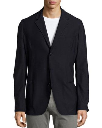 Waffle 3-Button Jacket