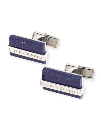 Sodalite Bar Cuff Links