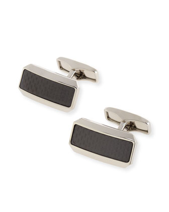 Avorities Clip Carbon Fiber Cuff Links