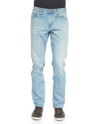 Graduate 18-Years Straight-Leg Jeans, Light Blue