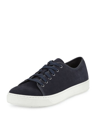 Austin Suede Low-Top Sneaker, Coastal