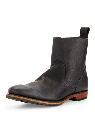 Ryker Leather Boot, Black