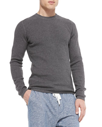 Long-Sleeve Thermal Shirt, Charcoal