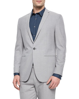 Stirling New Tailor Sport Coat, Light Gray