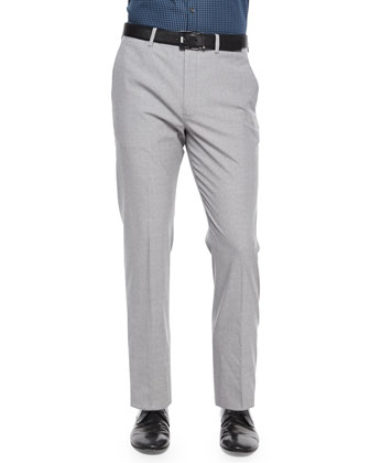 Jake W New Tailor Pants, Light Gray