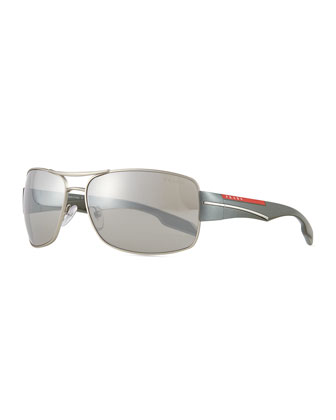 Sport Pilot Sunglasses, Gray