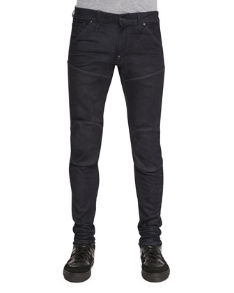 5620 3D Super Slim Stretch Moto Jeans