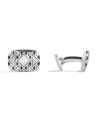 Frontier Silver Cuff Links