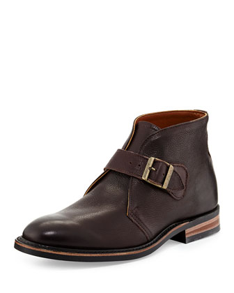Grove Single-Monk Boot, Chocolate