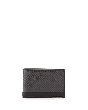 CFX Slim Bi-Fold Wallet, Carbon