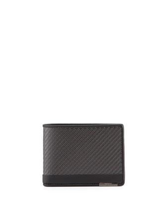 CFX Double Bi-Fold Wallet, Carbon