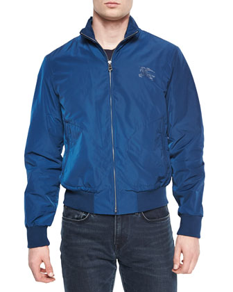 Bradford Lightweight Bomber Jacket, Deep Teal