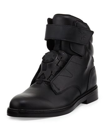 MY-78 High-Top Sneaker, Black