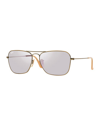 Navigator Sunglasses, Lilac