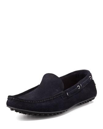 Slip-On Driving Shoe, Navy
