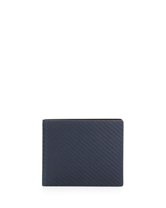 Chassis Bi-Fold Wallet, Navy
