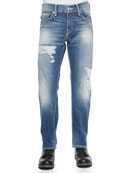 Ricky Super T Flap Pocket Jeans, Blue
