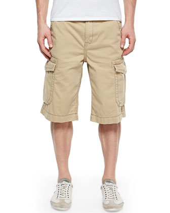 Trooper Cargo Shorts, Straw