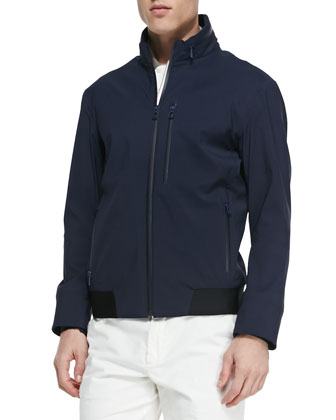 Regatta Zip-Up Jacket, Navy