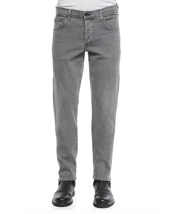 Slim-Leg Skinny Jeans, Iron