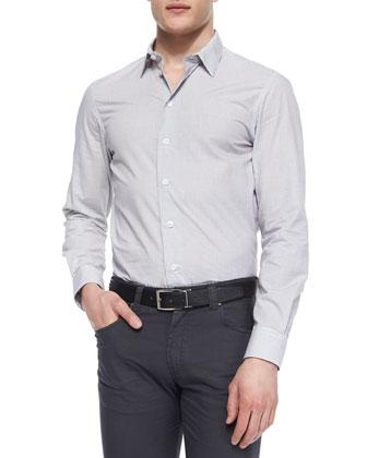 Nylon Zip-Up Blazer Jacket, Small-Check Woven Dress Shirt & Five-Pocket ...