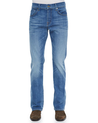 Brett Boot-Cut Stretch Denim Jeans