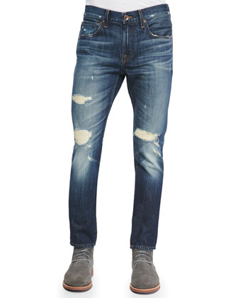 Paxtyn Distressed Denim Jeans