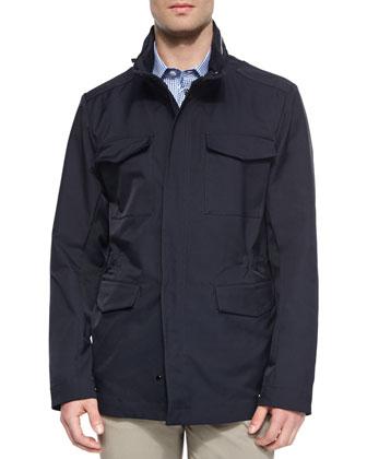 Four-Pocket Field Jacket, Navy