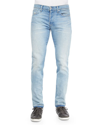 Tyler Otto Slim-Fit Jeans, Light Blue