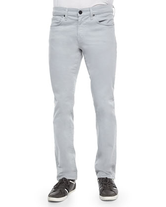 Kane Light-Gray Straight Jeans