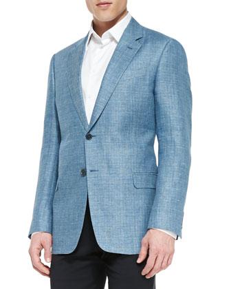 G-Line Two-Button Melange Jacket