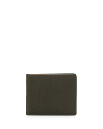 Chassis Bi-Fold Wallet, Green