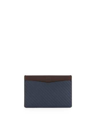 Chassis Slim Credit Card Case, Navy