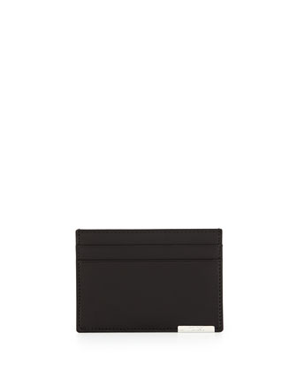 Toledo Slim Credit Card Case, Black