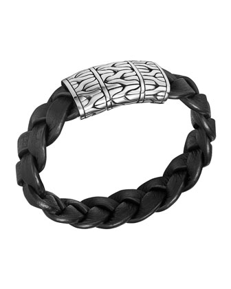 Men's Extra-Large Classic Chain Braided Bracelet
