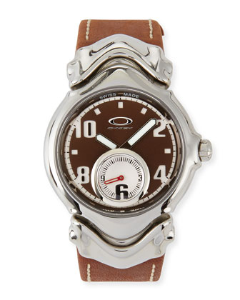 Jury II Leather-Strap Watch