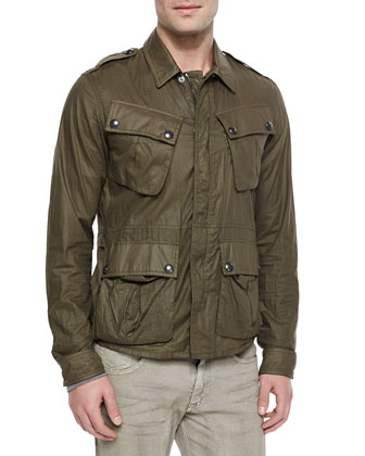 Gardiner Coated Jacket, Chirton Long-Sleeve Henley Shirt & Eastham ...