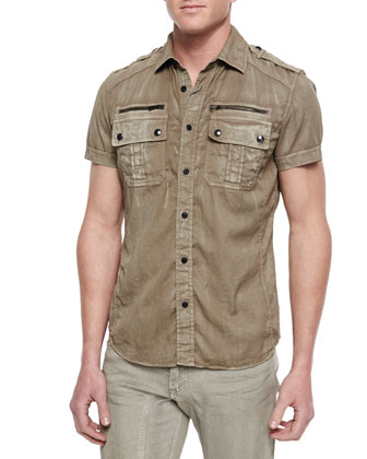 Franklin Short-Sleeve Two-Pocket Shirt