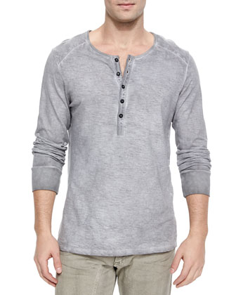Chirton Long-Sleeve Henley Shirt