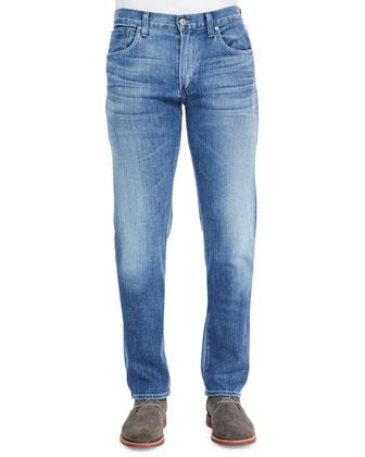 Core Slim Straight Colson Jeans, Light Indigo